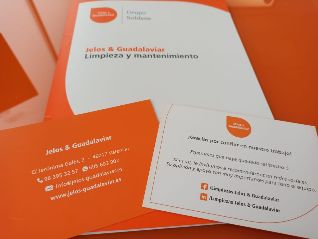 papelería corporativa identidad corporativa branding jelos&guadalaviar