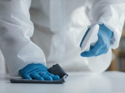 limpieza y desinfección frente a covid19