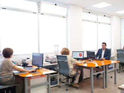 oficina de Jelos&Guadalaviar empresa de limpieza y mantenimiento en Valencia