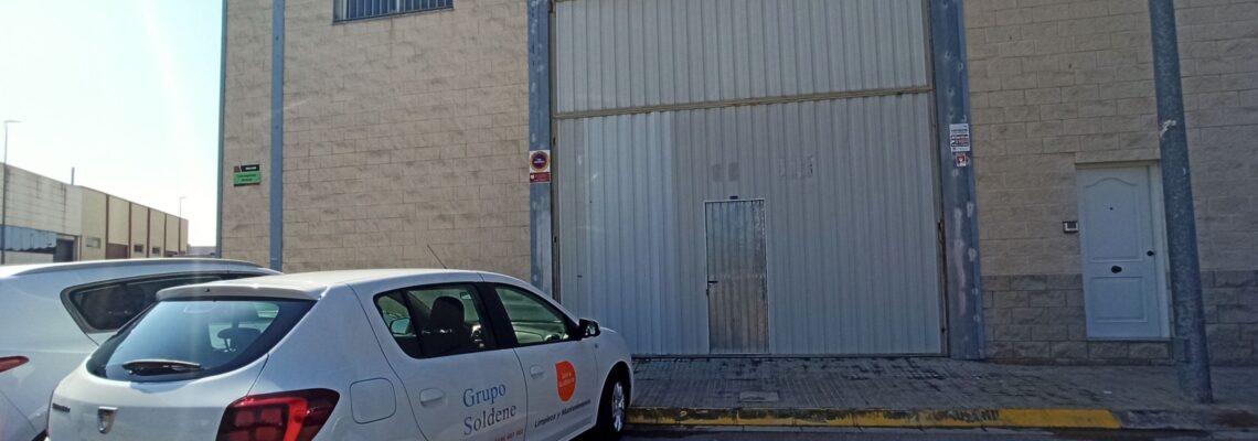 vídeo almacén jelos & guadalaviar empresa de limpieza y mantenimiento valencia