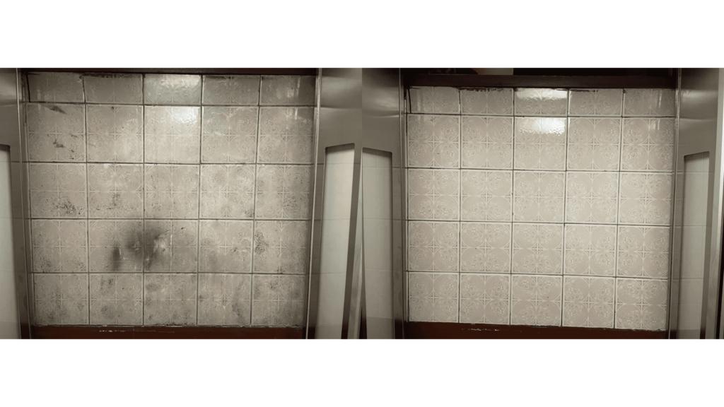 antes y después de limpieza de foso de ascensor y hueco de entrepisos empresa de limpieza valencia